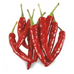 Semi peperoncino messicano