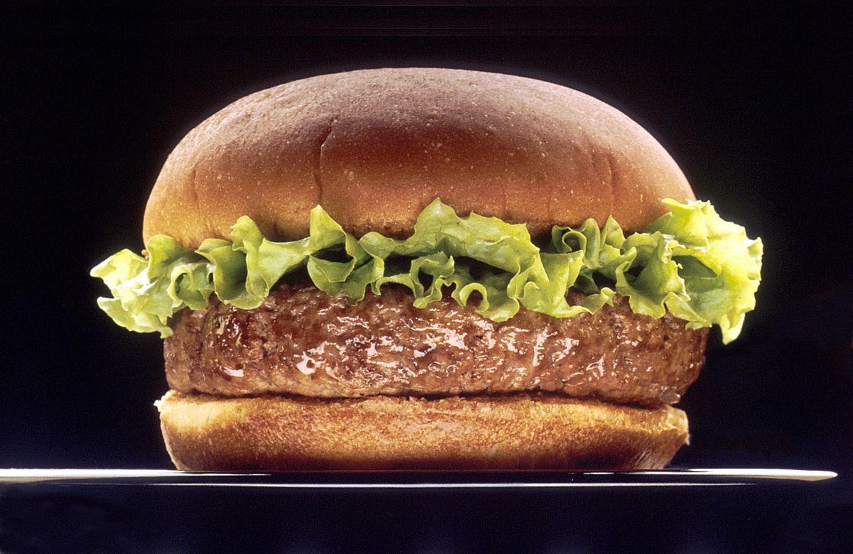 hamburger piccante