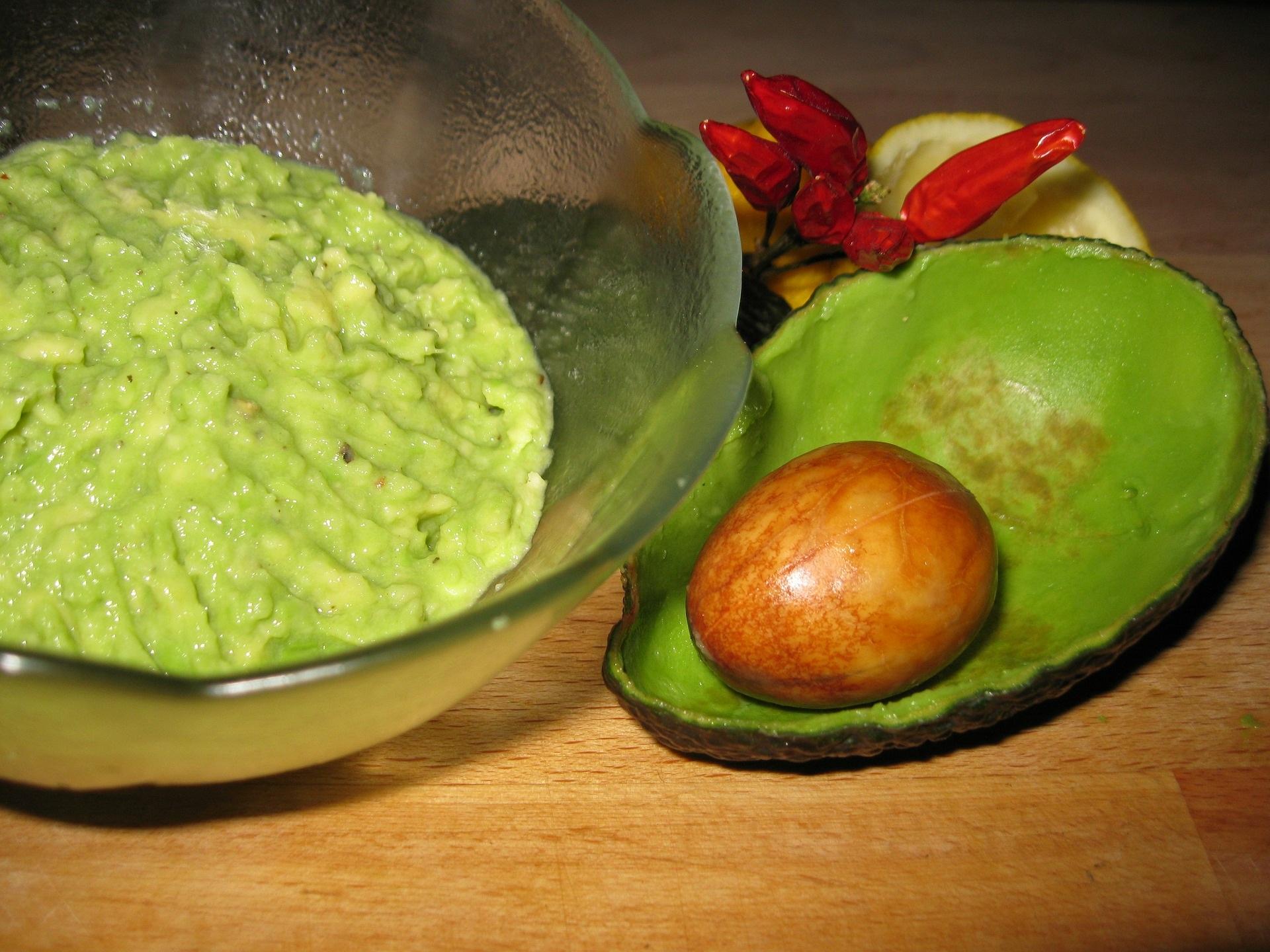 Crema di avocado piccante