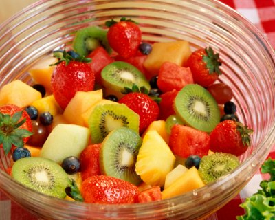 macedonia di frutta piccante