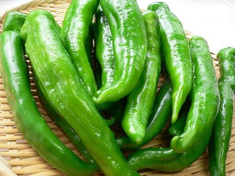 peperoncini verdi freschi