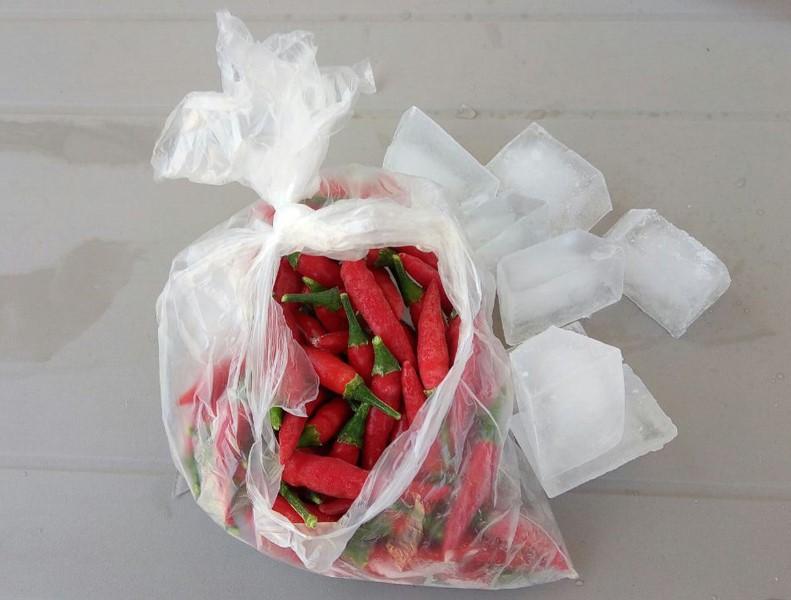 peperoncino congelato